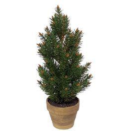 salg af Kunstig sitca grantræ i potte - 40 cm.