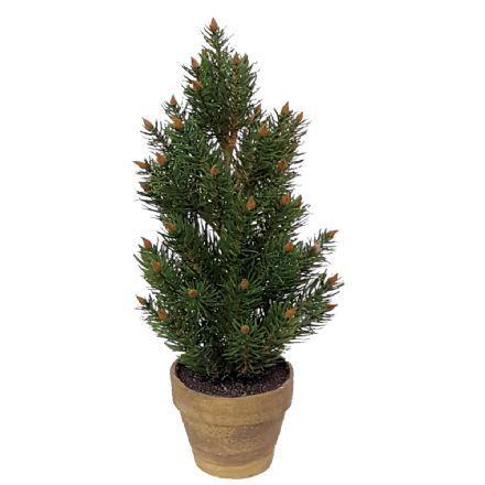 salg af Juletræ i potte ,40 cm. - kunstige juletræer