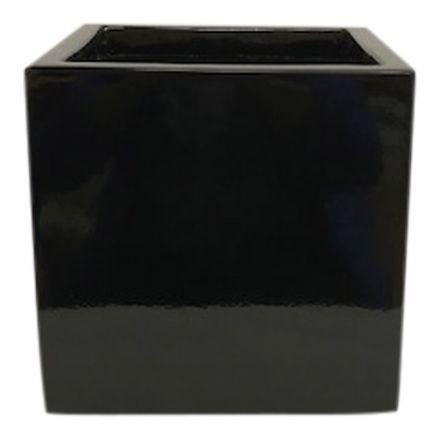 salg af Blank sort krukke, 20*20 cm.