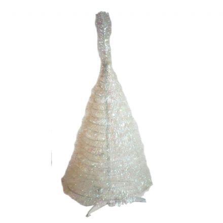salg af Skørt træ - hvid floriserende - 90 cm.