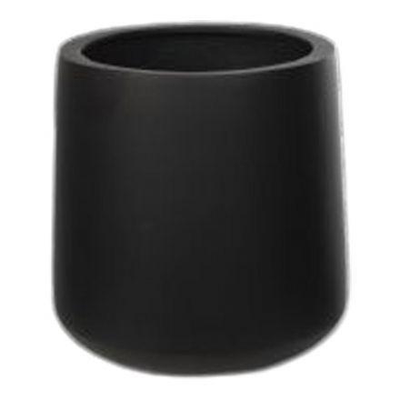 salg af Sort fiberstone krukke, Ø37*H41 cm.