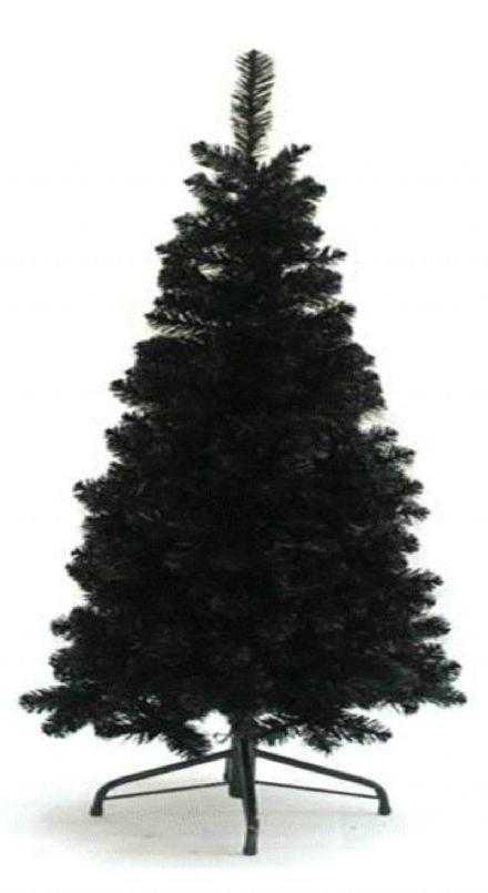 salg af Sort juletræ, 120 cm. - kunstige juletræer