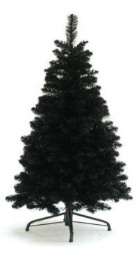 salg af Sort juletræ, 180 cm. - kunstige juletræer