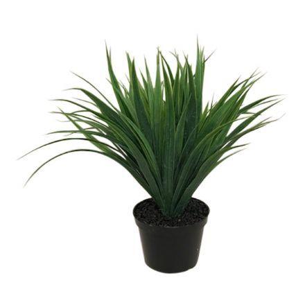 salg af Grågrøn græs plante - 28 cm. - kunstige planter