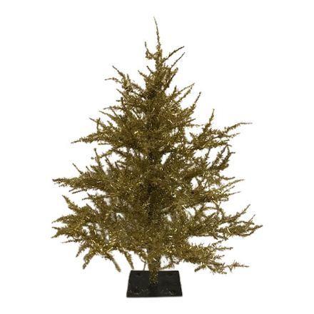 salg af Guld juletræ, 60 cm. - kunstige juletræer
