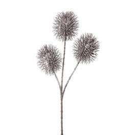 salg af Tidsel m/frost - 50 cm. - kunstige blomster