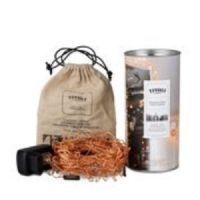 salg af Tivoli lyskæder, twistet kobber - 15 m.