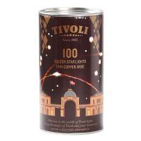 salg af Tivoli kobber LED lys, 100 lys på 10 meter ledning