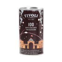 salg af Tivoli sølv LED lys. 100 lys på 10 meter ledning