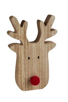 salg af Træ elv, 8,5*13*2 cm.