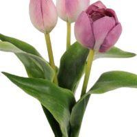 salg af Lys lilla Tulipaner, 36 cm - kunstige blomster