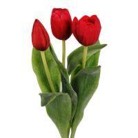 salg af Røde Tulipaner, 36 cm - kunstige blomster