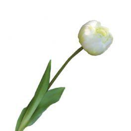 salg af Tulipan creme, 45 cm - kunstige blomster