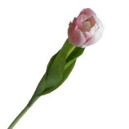 salg af Tulipan, 45 cm. lys rød - kunstige blomster