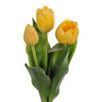 salg af Gule Tulipaner, 36 cm.  - kunstige blomster