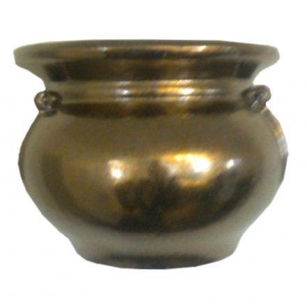 salg af Vægampel, guld H16- B21 cm.