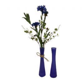 salg af Vase - blå - 20 cm.