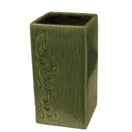 salg af Vase høj 25 cm bred 14x14 cm.
