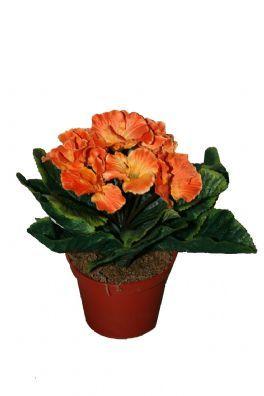 salg af Primula 18 cm, orange - kunstige blomster