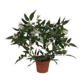 salg af Yasmin bøjle m/hvide blomster - 30 cm. - kunstig blomst